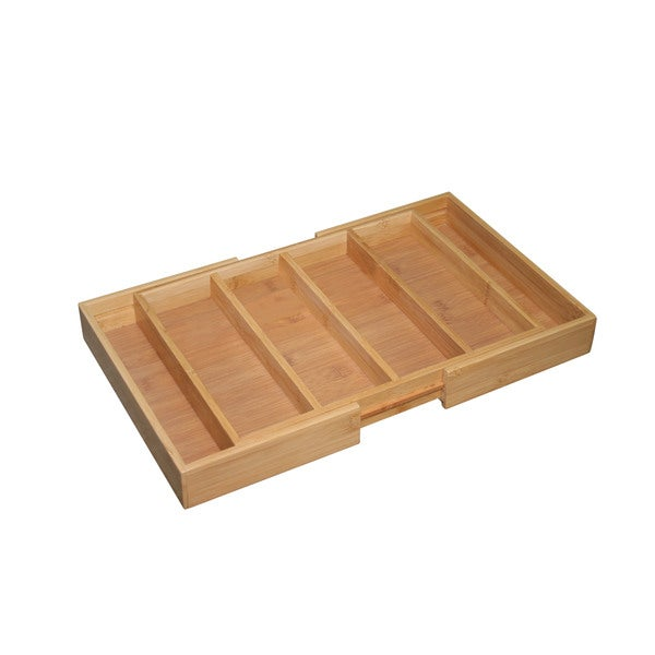 Shop Bamboo Cutlery Tray Free Shipping On Orders Over