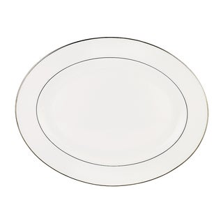 Lenox Continental Dining Platinum 16-Inch Oval Platter