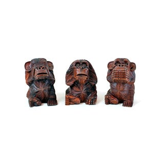 No Evil Monkeys (Set of 3)