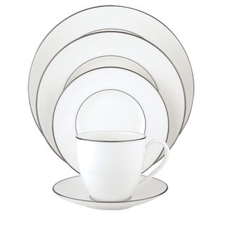 Noritake Platinum Wave 5 Piece Place Setting Free