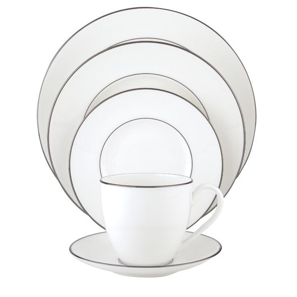 Lenox Continental Dining Platinum 5-Piece Dinnerware Place Setting