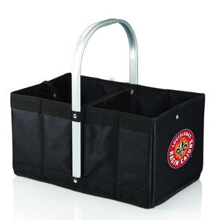 Univerity of Louisiana Ragin Cajuns Black Urban Picnic Basket