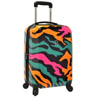 Traveler's Choice Colorful Camouflage 21-inch Hardside Carry-on Spinner Luggage