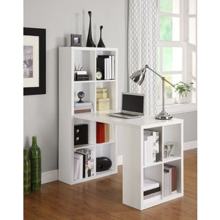 Avenue Greene Acorn Ridge White Hobby Desk