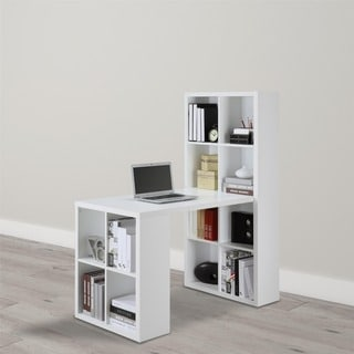 Ameriwood Home White London Hobby Desk