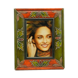 Painted/ Embossed Photo Frame