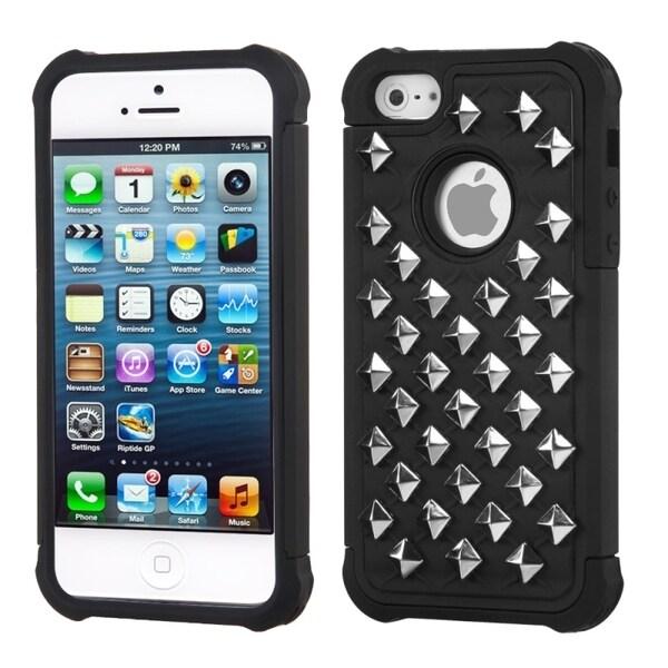 INSTEN Lattice Dazzling TotalDefense Phone Case Cover for Apple iPhone 5/ 5S