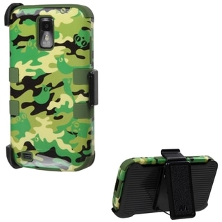INSTEN Holster TUFF Hybrid Phone Case Cover for Samsung T989 Galaxy S2