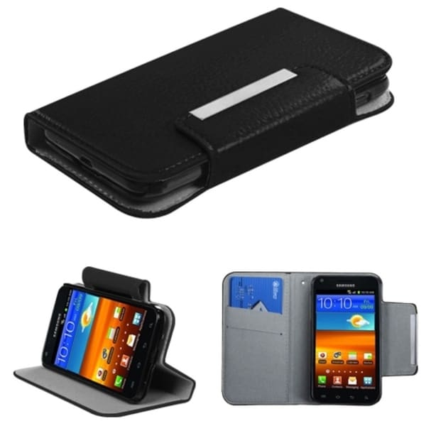 INSTEN Wallet Phone Case Cover for Samsung D710 Epic 4G Touch/ R760 Galaxy S II