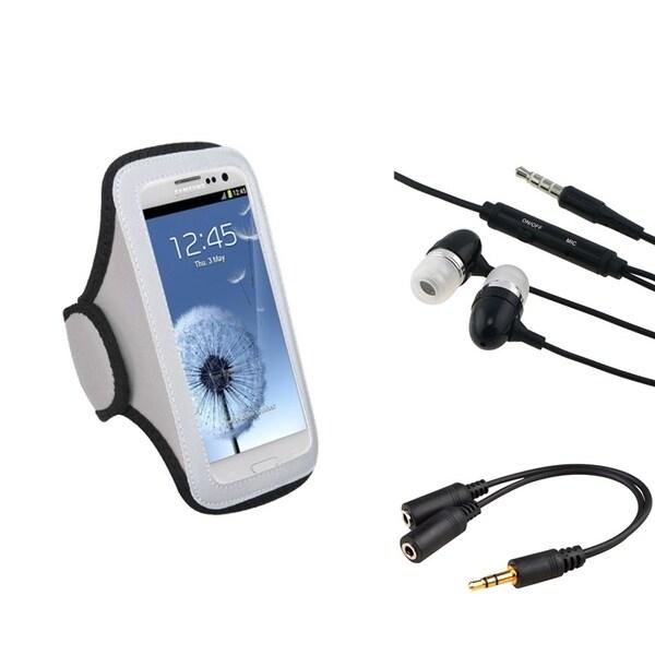 INSTEN Universal Armband/ Headset/ Splitter for Cell Phone