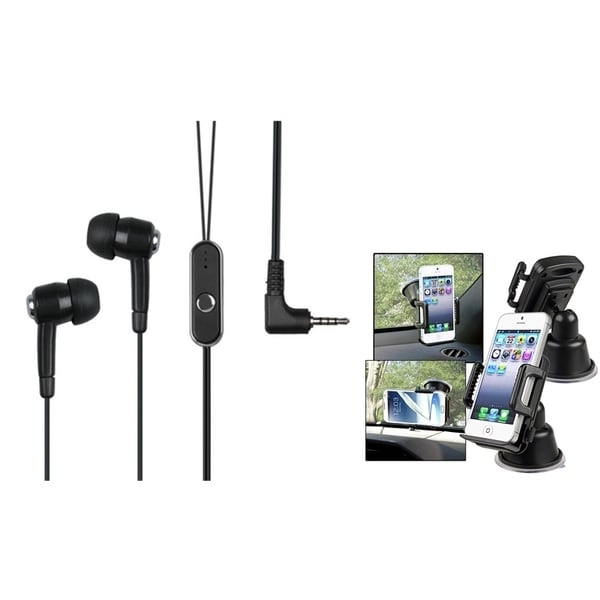 INSTEN Universal Headset/ Windshield Phone Holder for Cell Phones