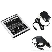 INSTEN Samsung Battery/ Travel Charger/ Car Charger for Samsung Galaxy S2