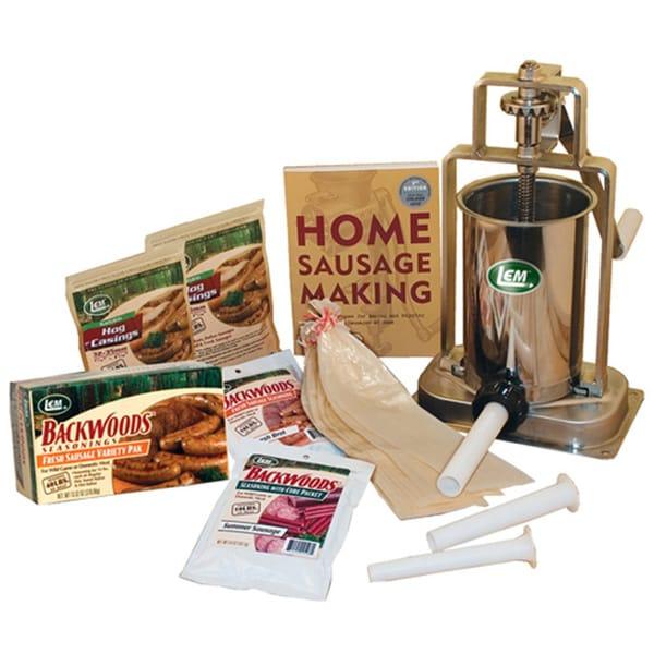 Sausage Stuffing Kit 5-pound Vertical Stuffer