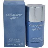 Dolce & Gabbana Light Blue Men's 2.4-ounce Deodorant Stick