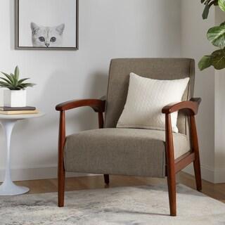 Strick & Bolton Gracie Retro Indigo Arm Chair