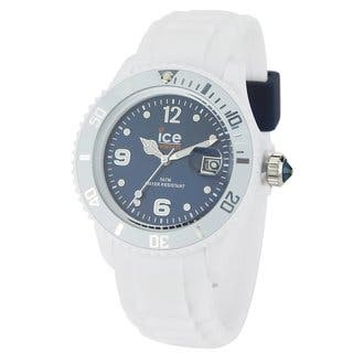Ice Men's Ice-White Dark Blue Dial Watch|https://ak1.ostkcdn.com/images/products/8327004/Ice-Mens-Ice-White-Dark-Blue-Dial-Watch-P15640188.jpg?impolicy=medium