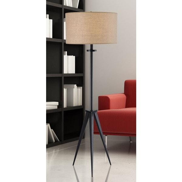 Caperana 1-light Oil Rubbed Bronze Floor Lamp