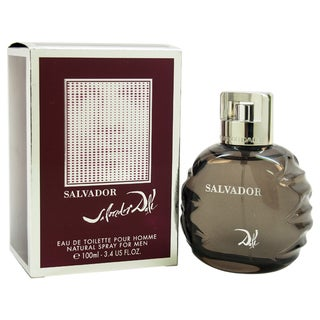 Salvador Dali Salvador Men's 3.4-ounce Eau de Toilette Spray