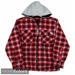 Farmall IH Junior Boys Thermal Lined Flannel Hoodie