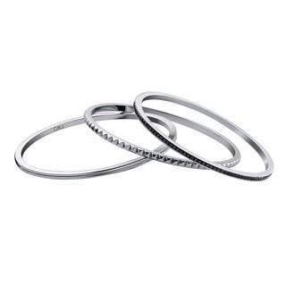 Calvin Klein Jeans Jewelry Astound Stainless Steel Bracelet Set
