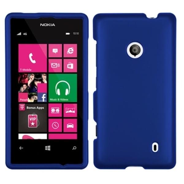 INSTEN Dark Blue Phone Case Cover for Nokia 521 Lumia
