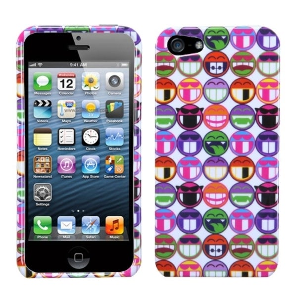 INSTEN All Smiles Redux Phone Case Cover for Apple iPhone 5 / 5S / SE