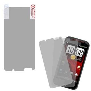 INSTEN Clear Screen Protector for Twin Pack for HTC Incredible 4G LTE