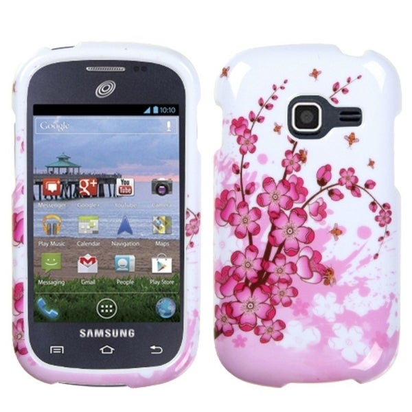 INSTEN Spring Flowers Phone Case Cover for Samsung Galaxy Discover
