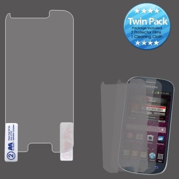 INSTEN Clear Screen Protector Twin Pack for Samsung Galaxy Ring