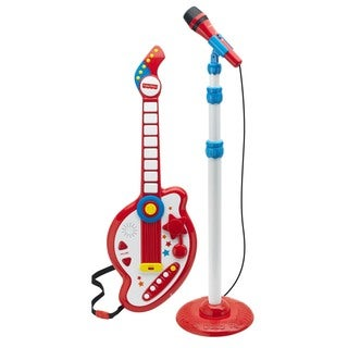 Fisher-Price Rockstar Guitar and Microphone Set