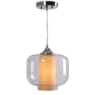 Cluses 10-inch Oil Rubbed Bronze Finish 1-light Pendant