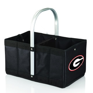 University of Georgia Bulldogs Black Urban Picnic Basket