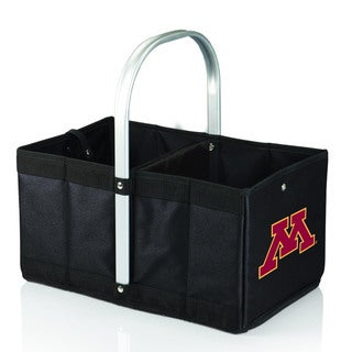 University of Minnesota Golden Gophers Black Urban Picnic Basket