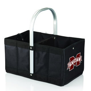 Mississippi State University Bulldogs Black Urban Picnic Basket