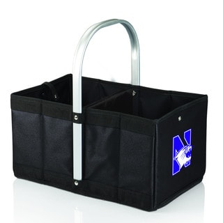 Northwestern University Wildcats Black Urban Picnic Basket