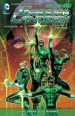 Green Lantern 3: The End (Paperback)
