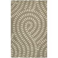Zoe Light Brown Hand-tufted Wool Rug (9' x 12')