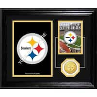 Pittsburgh Steelers Framed Memories Desktop Photo Mint
