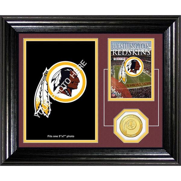 Washington Redskins Framed Memories Desktop Photo Mint