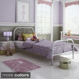 Amisco Ballerina Juvenile Twin Bed