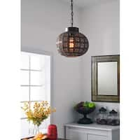 Mia 1-light Mini Pendant - Aged Bronze
