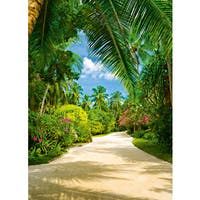 Ideal Decor 'Tropical Pathway' Wall Mural