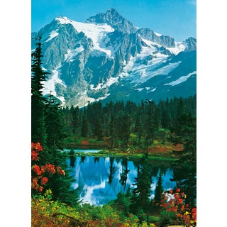 Ideal Decor 'Mountain Peak' Wall Mural