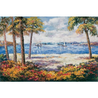 Brewster 39 ocean view 39 wall mural free shipping today for Brewster birch wall mural