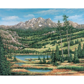 Brewster 'Mountain Scenic' Wall Mural