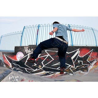 Brewster 'Skateboard Kickflip' Wall Mural