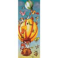 Brewster 'Komar Balloon' Wall Mural - Yellow/Blue