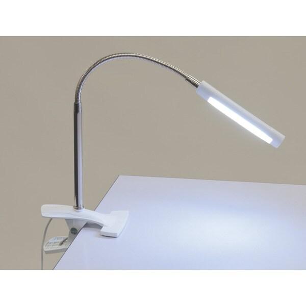 Studio Designs White Art Clamp Lamp