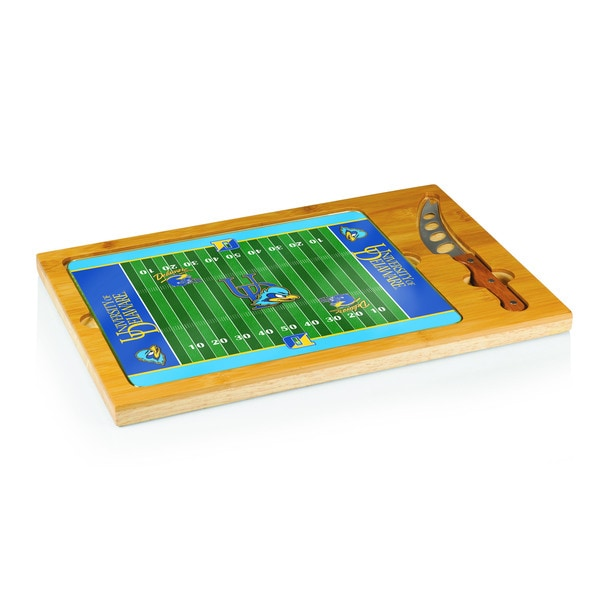 Football Icon University of Delaware Blue Hens Cheese Tray
