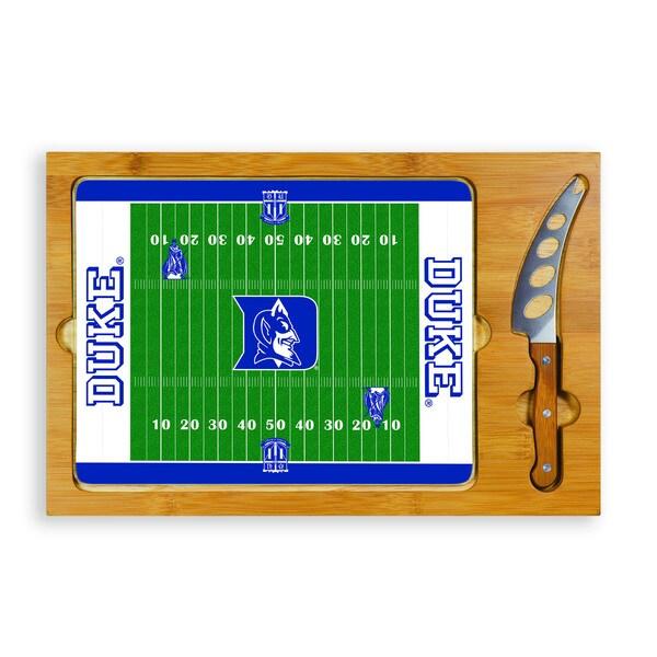 Football Icon Duke University Blue Devils Cheese Tray